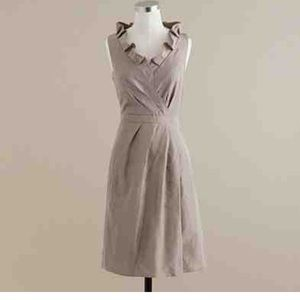 J-crew silk Blakey dress